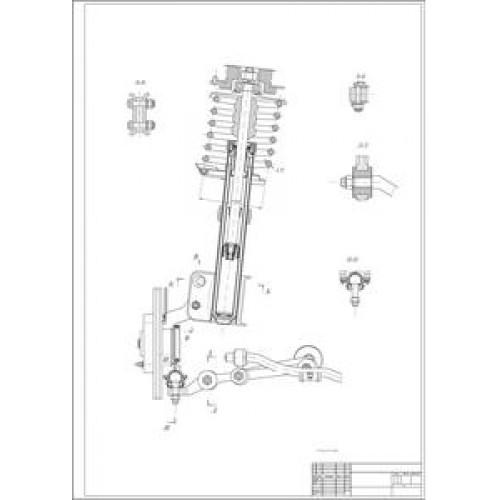 передней подвески ВАЗ-2110