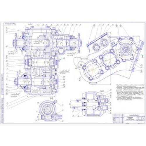 раздаточной коробки ГАЗ-66